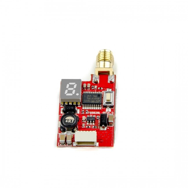AKK TS5828L 5.8G 600MW 40Ch FPV Mini AV Transmitter for FPV Multicopter