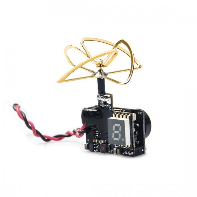 600TVL 1//3 CMOS Micro AIO FPV AKK 40CH 5.8G 0//25mW//50mW//200mW Switchable VTX
