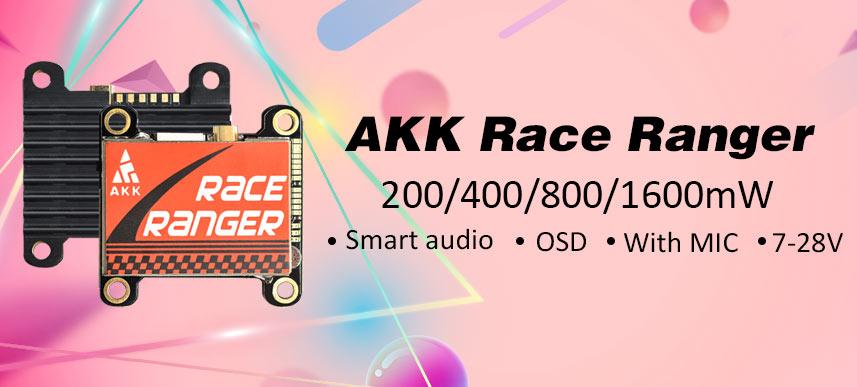 FPV VTX, AKK VTX, Race Ranger, AKK Race Ranger, 5.8G video transmitter, 1000mW VTX,  AKK FPV, AKK FPV VTX, longe range VTX
