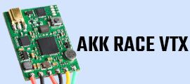AKK Race VTX 25mw 200mW switchable OSD configuration smart audio